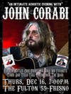 An intimate Acoustic evening with John Corabi
