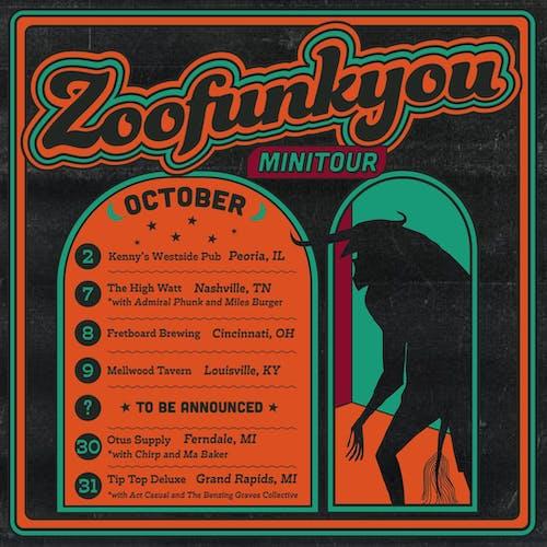 Zoofunkyou / Admiral Phunk / Miles Burger