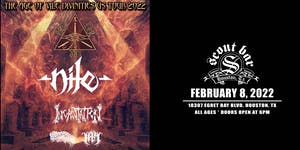 NILE - THE AGE OF VILE DIVINITIES US TOUR 2022