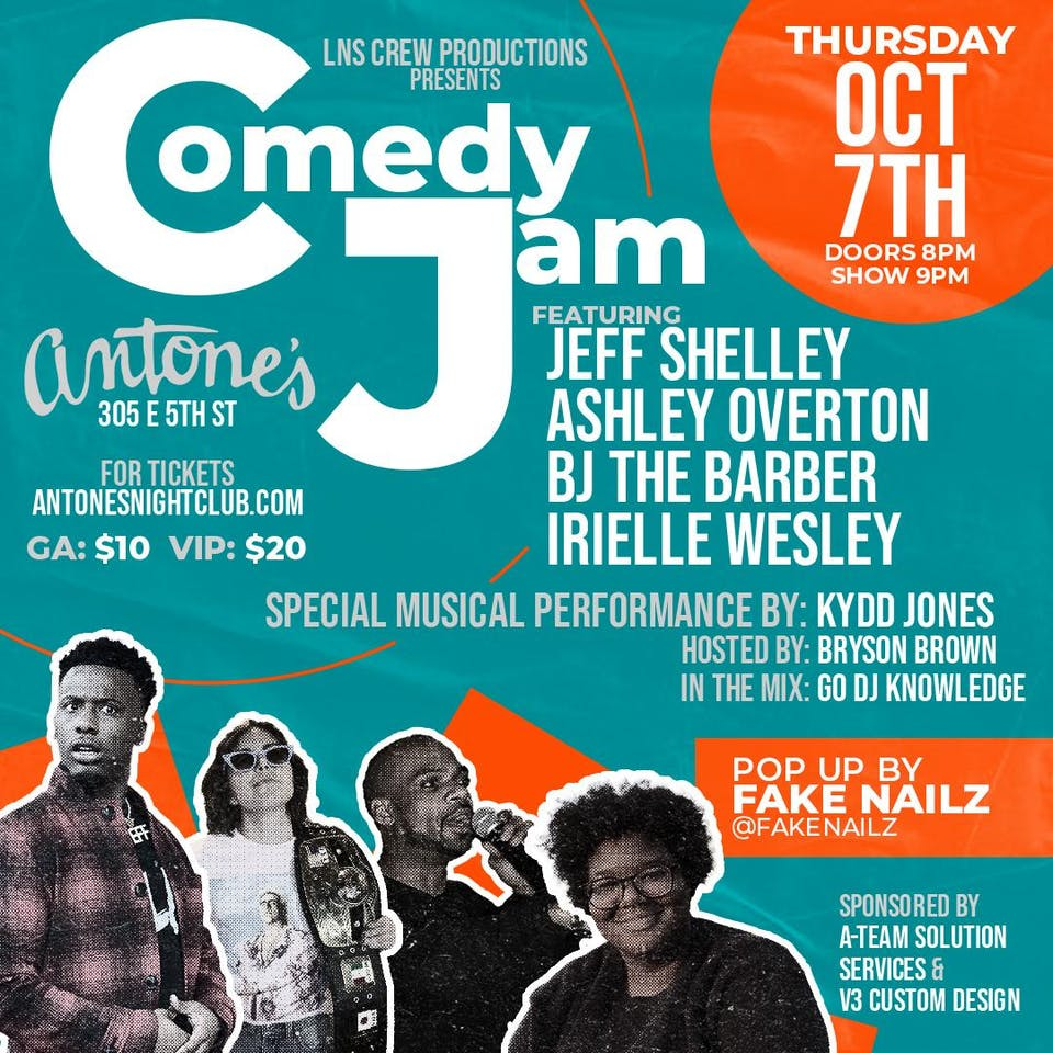 Kydd Jones Comedy Jam Hosted by Bryson Brown