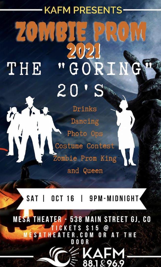 "Zombie Prom: The ""Goring"" 20's"