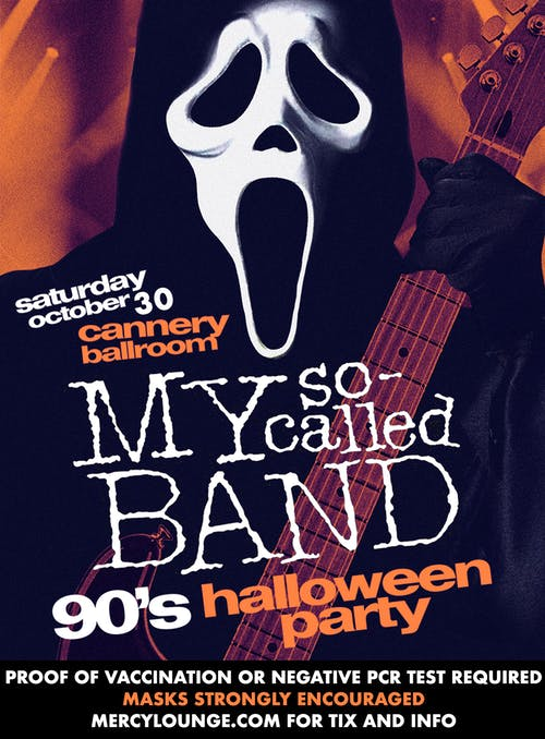 My So-Called Band: The Ultimate '90s Halloween Party!