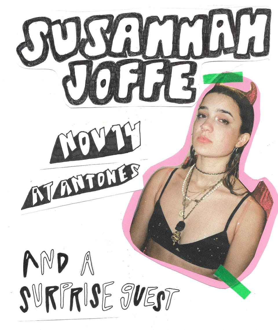 Susannah Joffe w/ The Irons and Photokem