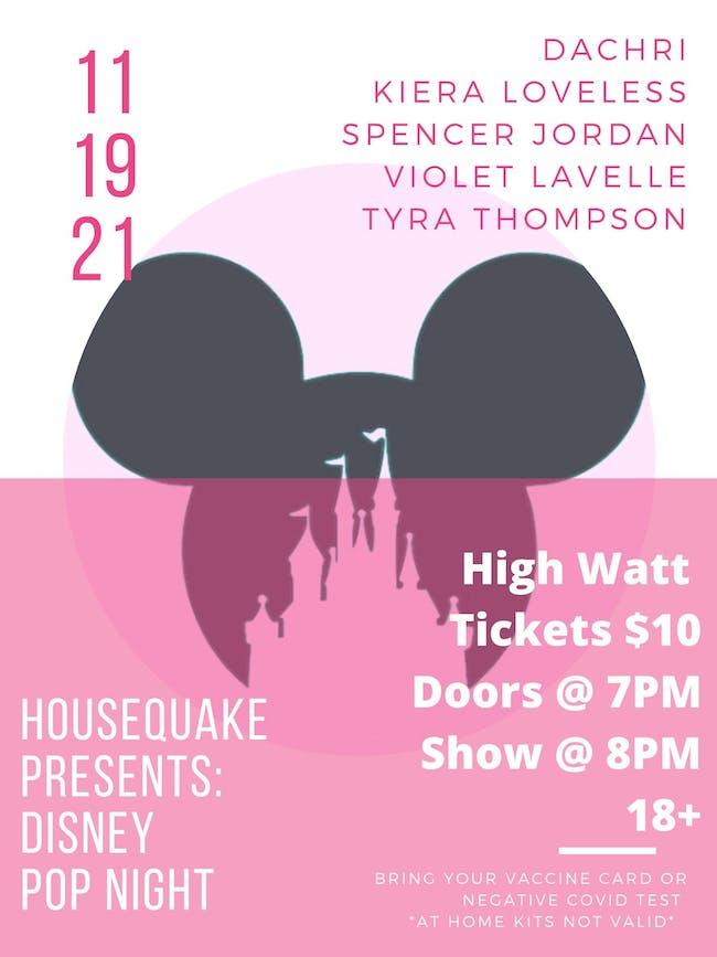 Disney Pop Night feat. Violet LaVelle, Tyra Thompson, & more
