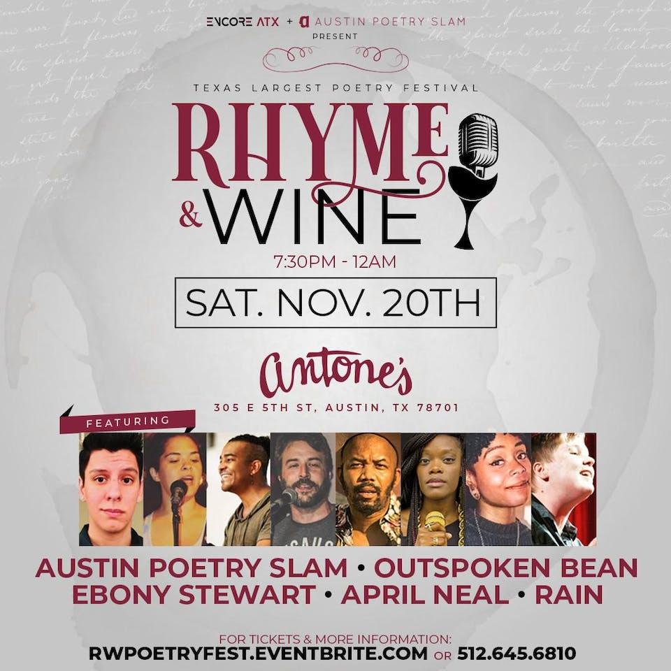 UPSTAIRS: Rhyme & Wine