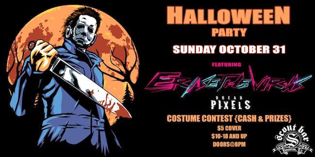 Halloween party w/ Erase The Virus