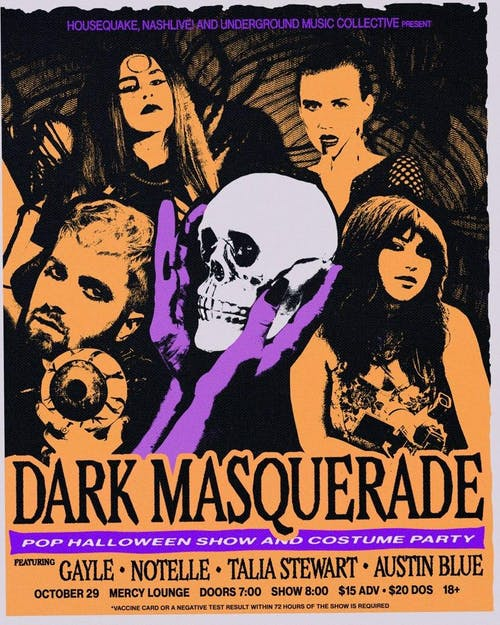 Dark Masquerade - Pop Halloween Show & Costume Party