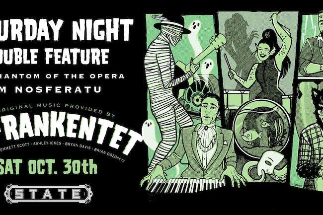 Double Feature: Phantom Of The Opera & Nosferatu; Featuring The Frankentet