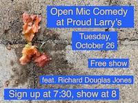 Open Mic Comedy featuring Richard Douglas Jones