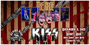 THE CRUE- a tribute to Motley Crue + KISS ALIKE- a tribute to KISS