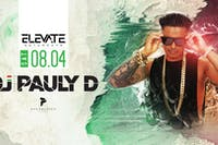 Elevate Saturdays: DJ Pauly D