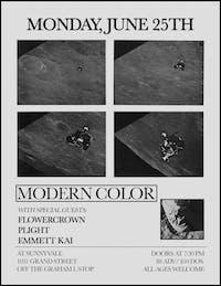 Modern Color, Flowercrown, Plight, Emmett Kai