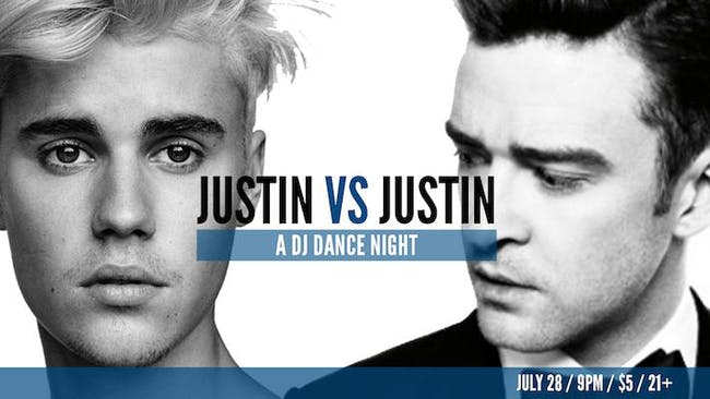 Justin Timberlake vs. Justin Bieber - A DJ Dance Party!