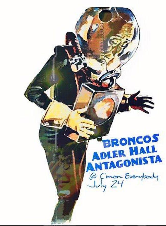 Broncos, Adler Hall, Antagonista