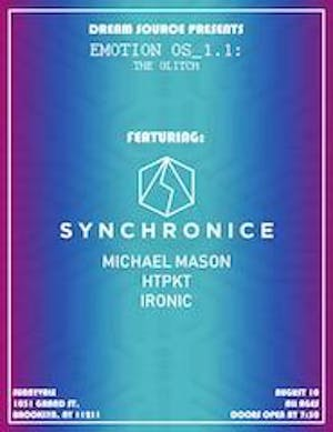 Dream Source Presents: Emotion OS_1.1: The Glitch ft. Synchronice