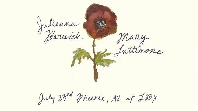 Julianna Barwick // Mary Lattimore // Jess Williamson