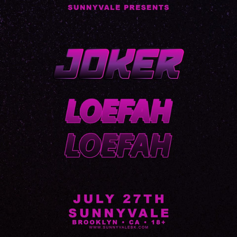 Joker and Loefah