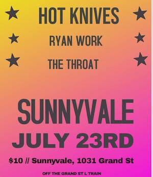 Hot Knives, Ryan Work, The Throat
