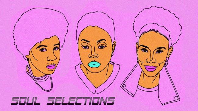 Soul Selections with Sassyblack, Whoisskitzo, Joyelle Johnson