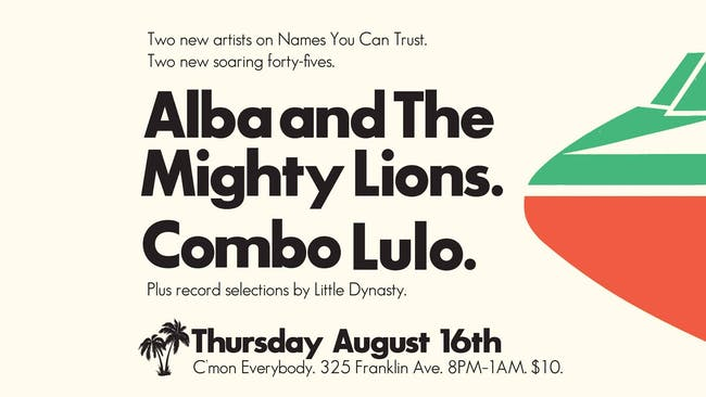 Alba + The Mighty Lions and Combo Lulo