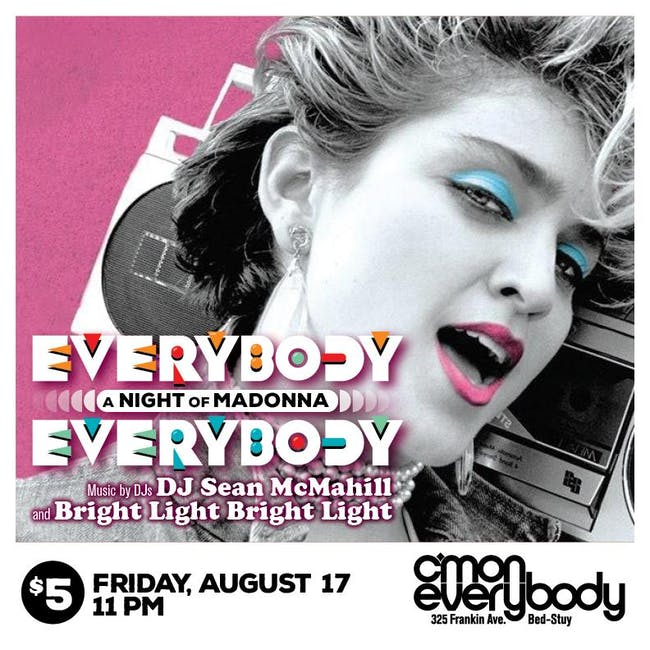 Everybody, Everybody *A Night Of Madonna*