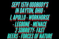 I, Apollo and Workhorse (and more) live at Oddbody's