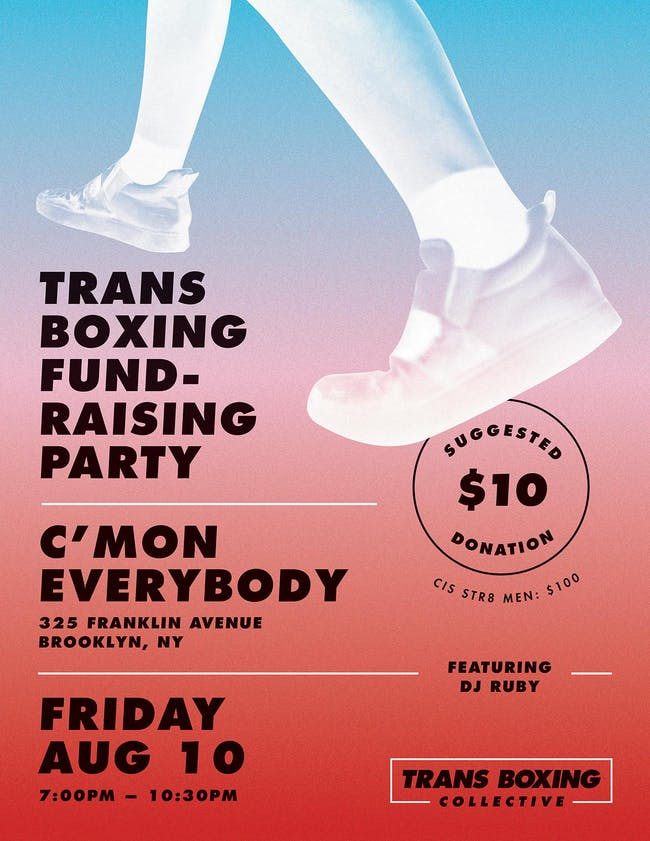 Trans Boxing Fundraising Party