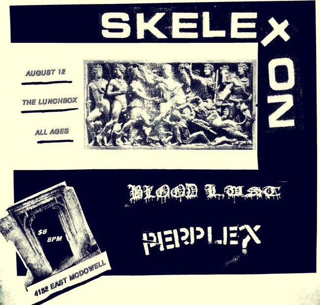 Skeleton // Bloodlust // Perplex