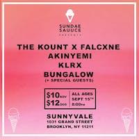 The Kount b2b Falcxne, Akinyemi, KLRX, Bungalow