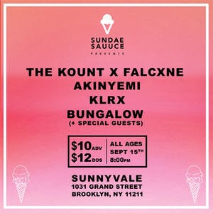 The Kount b2b Falcxne, Akinyemi, KLRX, Bungalow