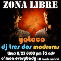 Zona Libre featuring Yotoco and DJ tres dos & Modrums
