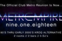 Club Metro Empire - Official Summer Reunion X .80s, 90s, 2000s