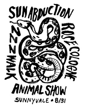 Sun Abduction, ZZZWalk, Rose Cologne, Animal Show