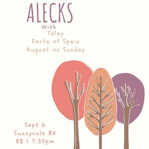 Alecks, Talay, Ports of Spain, August on Sunday