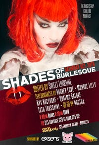 Shades of Burlesque: Halloween Spectacular