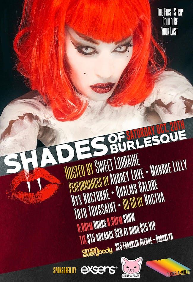 Shades of Burlesque: Halloween Spectacular