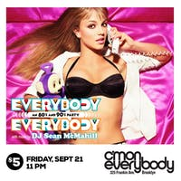 Everybody, Everybody *an 80's & 90's party*