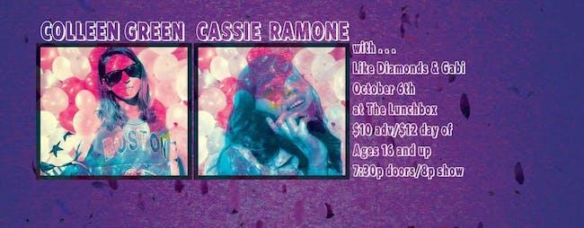 COLLEEN GREEN // CASSIE RAMONE
