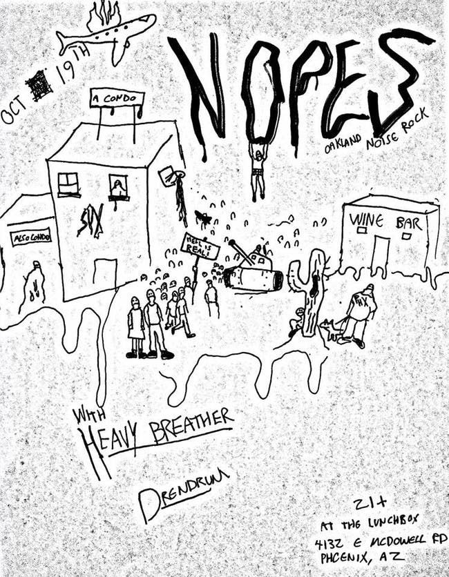 NOPES // Heavy Breather //