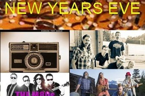New Years Eve party with Outlaw Jim & The Whiskey Benders /The Ben Miller Band / The M80's / The Instmatic's / The Kris Lager Band /5 bands on 3 different stages
