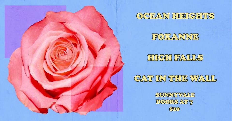Ocean Heights, Foxanne, High Falls, Cat In The Wall