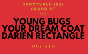 Young Bugs, Your Dream Coat, Darien Rectangle