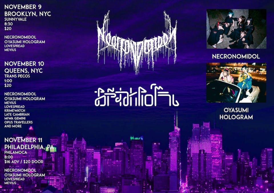 Oyasumi Hologram WORLD 27 TOUR w/NECRONOMIDOL