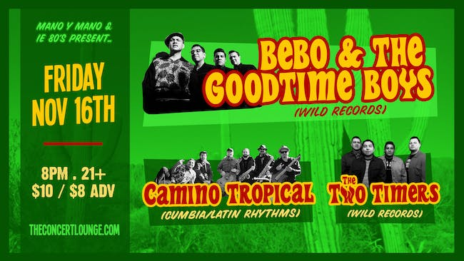 A Night of Rockabilly, Cumbia, & 80's