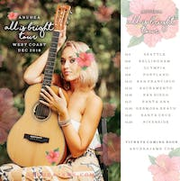 Anuhea - All Is Bright Tour 2018