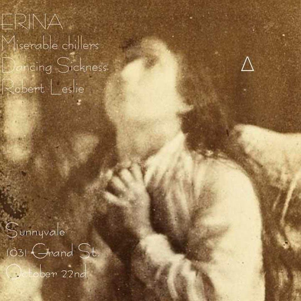 ERINA (WA) ¬ Miserable chillers ¬ Dancing Sickness ¬ R. Leslie
