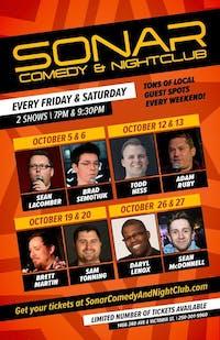 Comedy Night - Daryl Lenox + Sean Mcdonnell