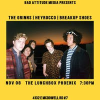 The Grinns // Heyrocco // Breakup Shoes