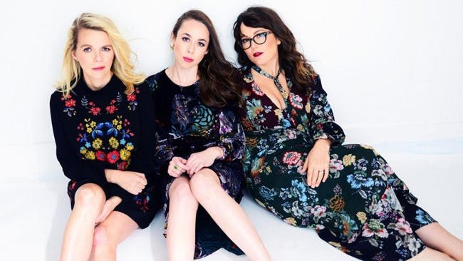 Tickets available at the Folly theater- Sara Watkins  Sarah Jarosz and Aoife O'Donovan--(I'm With Her) w/ Mipso