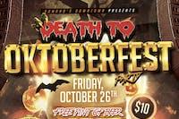 Death to Oktoberfest